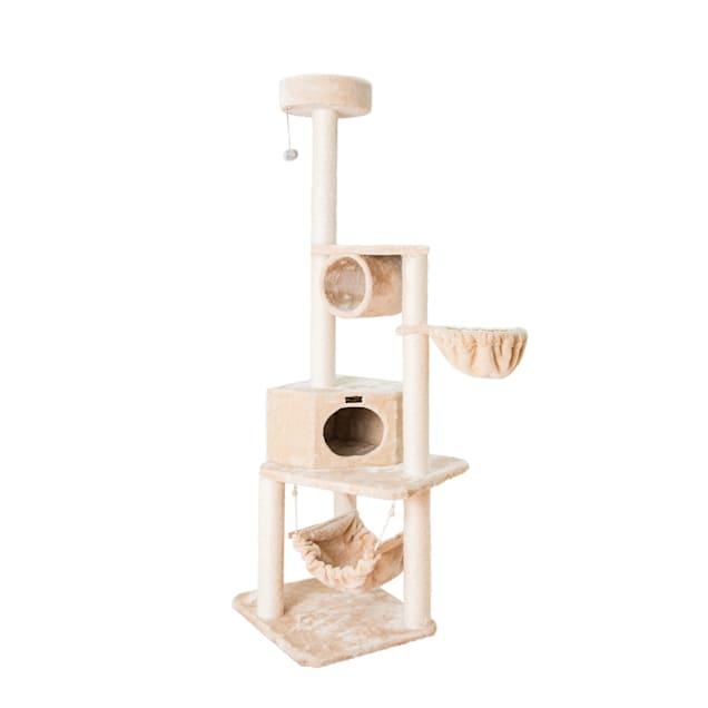 "Armarkat Beige Classic Cat Tree Model A7204, 72"" H - Carousel image #1"
