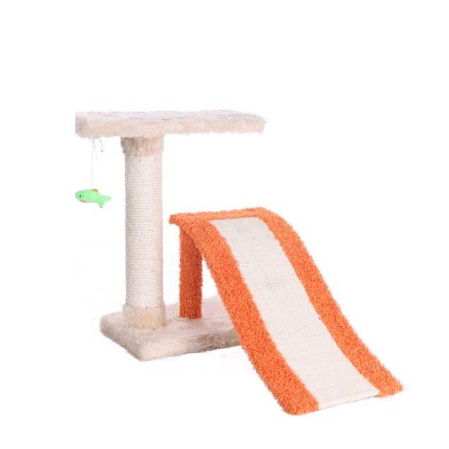 "Armarkat Orange Premium Cat Tree Model X2101, 27"" H - Carousel image #1"