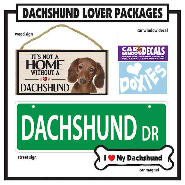 Imagine This Dachshund Gift Package - Carousel image #1