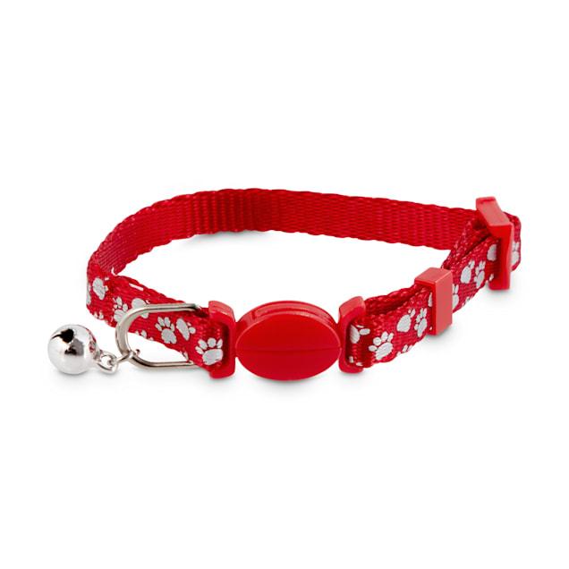 Good2Go Red Shiny Paws Breakaway Kitten Collar - Carousel image #1