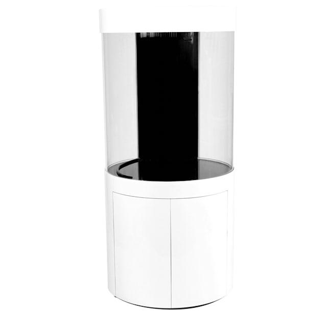 Pro Clear Acrylic Cylinder Aquarium Combo White, 125 Gallon - Carousel image #1