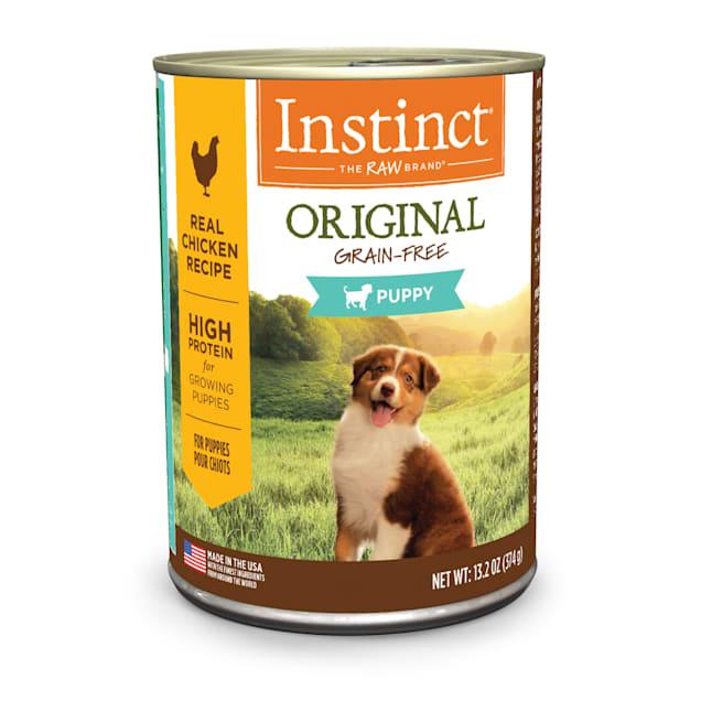 Instinct Original Puppy Grain-Free Real Chicken Recipe Wet Food, 13.2 oz., Case of 6 - Carousel image #1