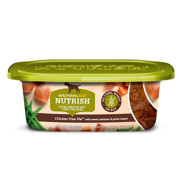 Rachael Ray Nutrish Natural Grain Free Chicken Paw Pie Wet Dog Food,  8 oz., Case of 8 - Carousel image #1