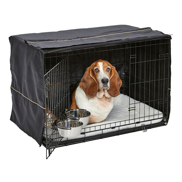 """Midwest iCrate Double Door Starter Kit for Dogs, 36"""" L X 23.25"""" W X 24.75"""" H - Carousel image #1"""