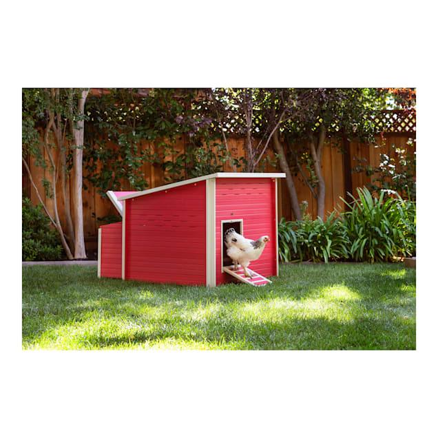 "New Age Pet ecoFLEX Jumbo Fontana Chicken Barn in Red, 54.1"" L X 46.3"" W X 40.1"" H - Carousel image #1"
