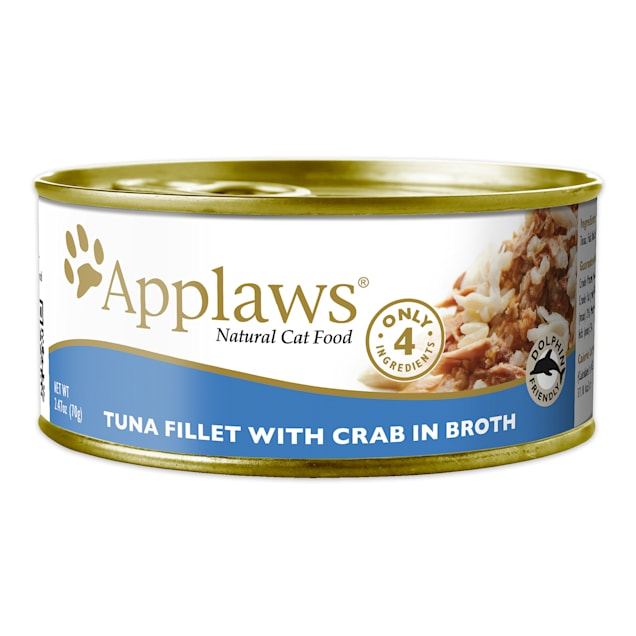 Applaws Tuna with Crab Wet Cat Food, 2.47 oz., Case of 24 - Carousel image #1
