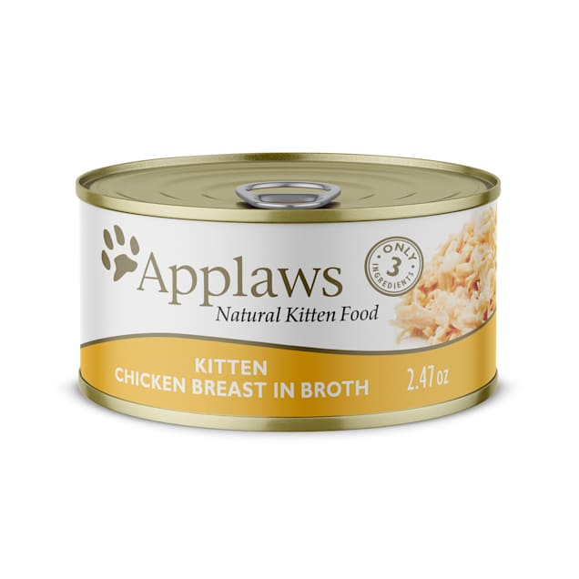 Applaws Natural Chicken Wet Kitten Food, 2.47 oz., Case of 24 - Carousel image #1