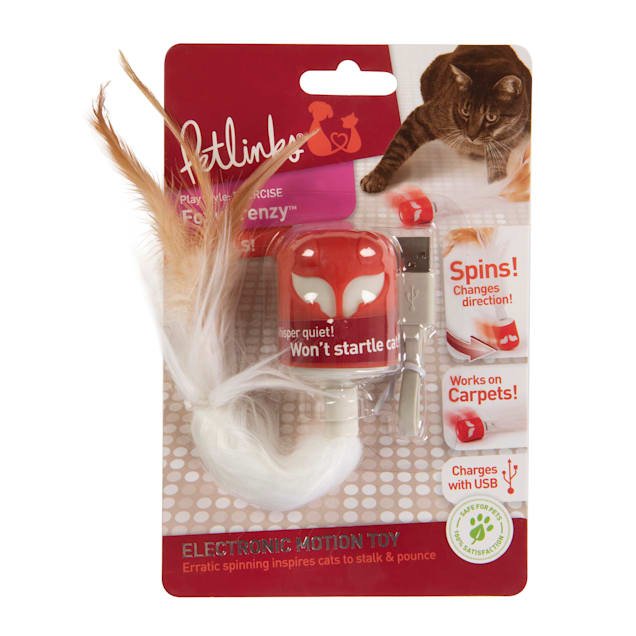 Petlinks Foxy Frenzy Cat Toy, Small - Carousel image #1