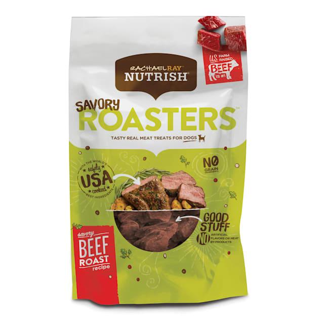 Rachael Ray Nutrish Savory Roasters Grain Free Savory Beef Roast Recipe Dog Treats, 12 oz. - Carousel image #1