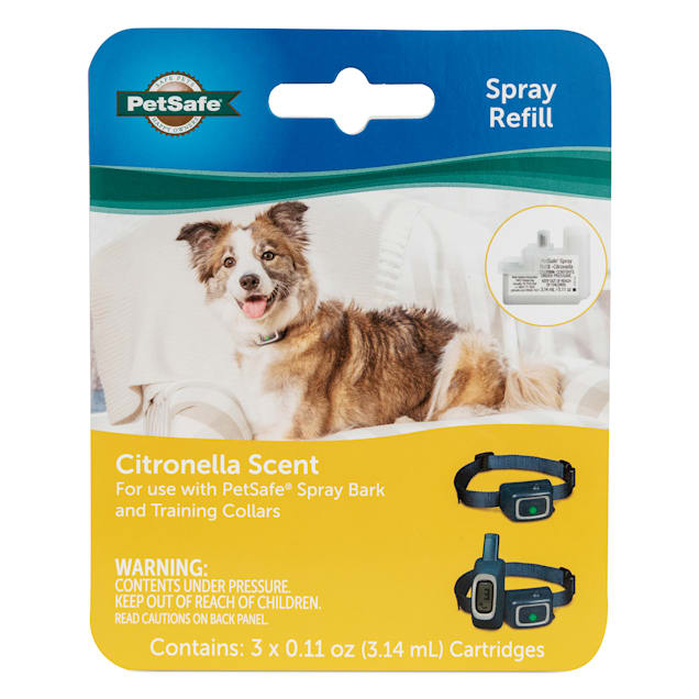 PetSafe Spray Refill Citronella for Dogs, 3.14 Milliliter, Pack of 3 - Carousel image #1