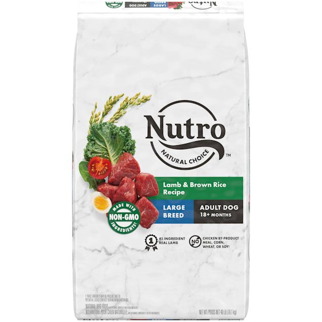 Nutro Natural Choice Lamb & Brown Rice Recipe Large Breed Adult Dry Dog Food, 40 lbs. - Carousel image #1