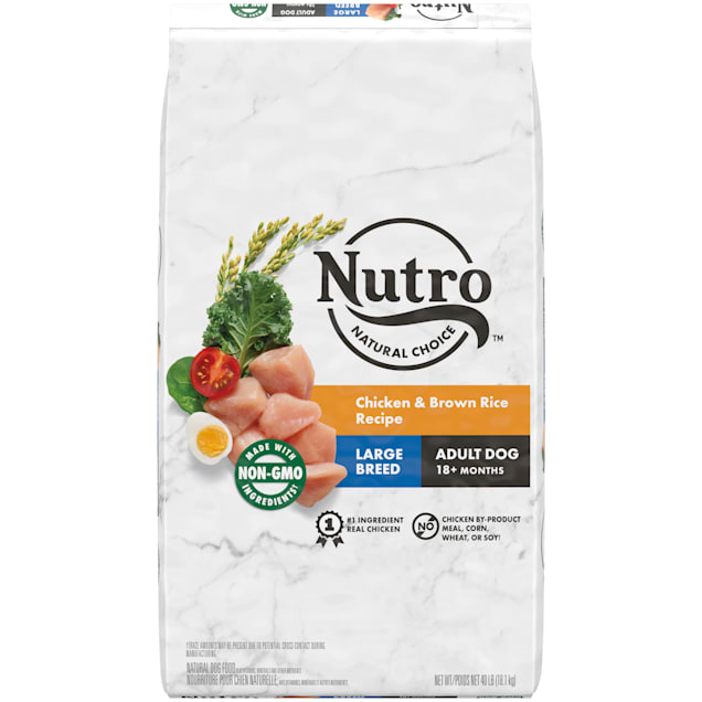Nutro Natural Choice Chicken & Brown Rice Recipe Large Breed Adult Dry Dog, 40 lbs. - Carousel image #1