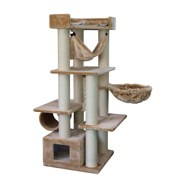 "Kitty Mansions Barcelona Cat Tree, 64"" H - Carousel image #1"