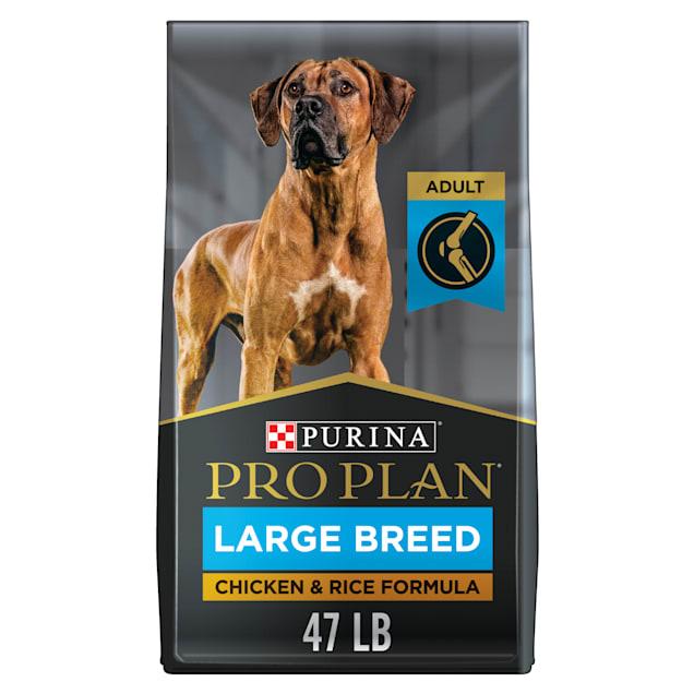Purina Pro Plan Large Breed Chicken & Rice Formula Dry Dog Food, 47 lbs. - Carousel image #1