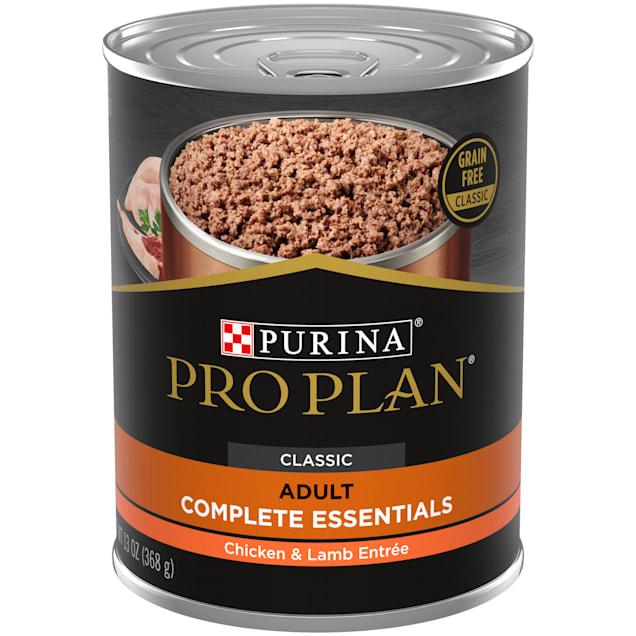 Purina Pro Plan Grain Free, High Protein Savor Classic Chicken & Lamb Entree Wet Dog Food, 13 oz., Case of 12 - Carousel image #1
