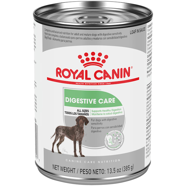 Royal Canin Digestive Care Loaf in Sauce Wet Dog Food, 13.5 oz., Case of 12 - Carousel image #1