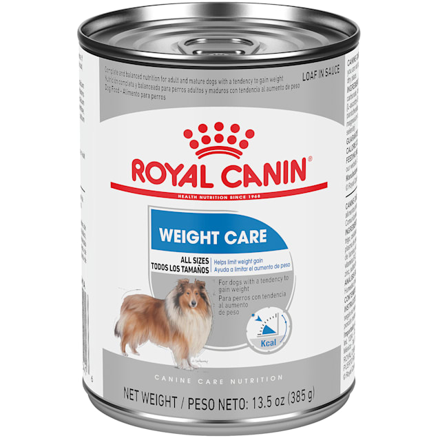 Royal Canin Weight Care Loaf in Sauce Wet Dog Food, 13.5 oz., Case of 12 - Carousel image #1
