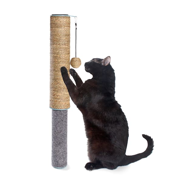 Hauspanther Collection by Primetime Scratch Pole Dual Surface Cat Toys, Small - Carousel image #1