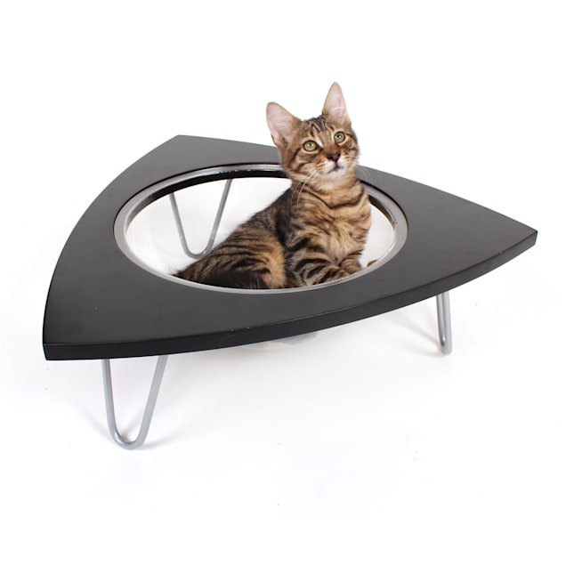 "Hauspanther Collection by Primetime Black TriPod for Cat, 20"" L X 20"" W X 6.5"" H - Carousel image #1"