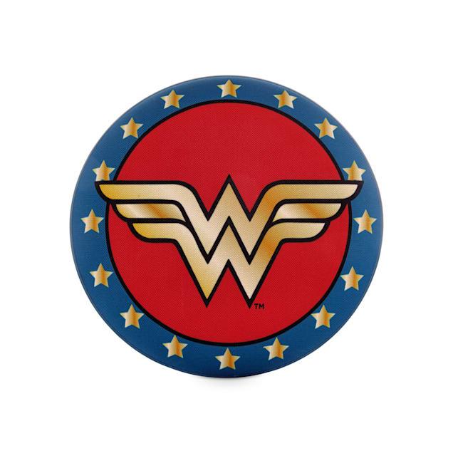 DC Comics Justice League Wonder Woman Flyer Dog Toy, Medium - Carousel image #1