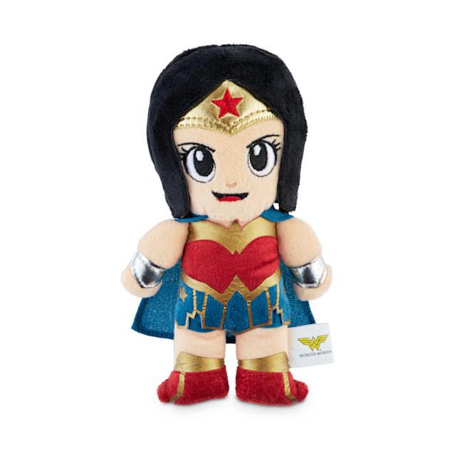 DC Comics Justice League Wonder Woman Plush Dog Toy, Small - Carousel image #1