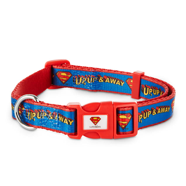 DC Comics Justice League Superman Dog Collar, Small - Carousel image #1