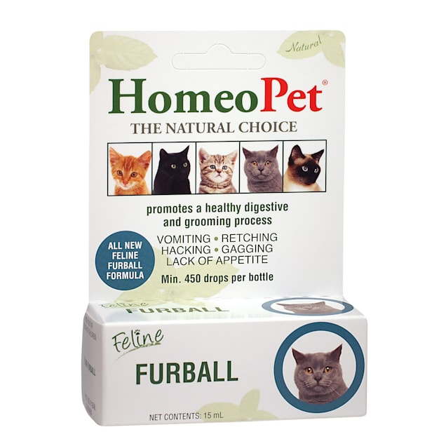HomeoPet Feline Digestive Furball Relief for Cats, 15 Milliliter - Carousel image #1