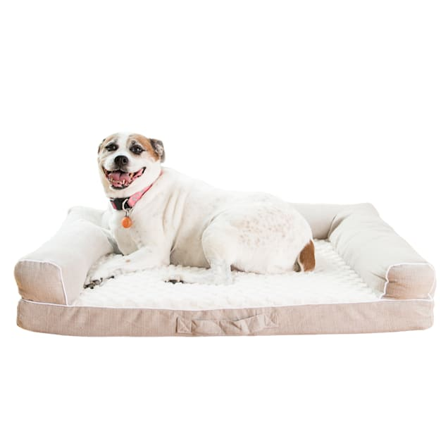 "Armarkat Memory Foam Model D07B Dog Bed, 35"" L X 28"" W X 8"" H - Carousel image #1"