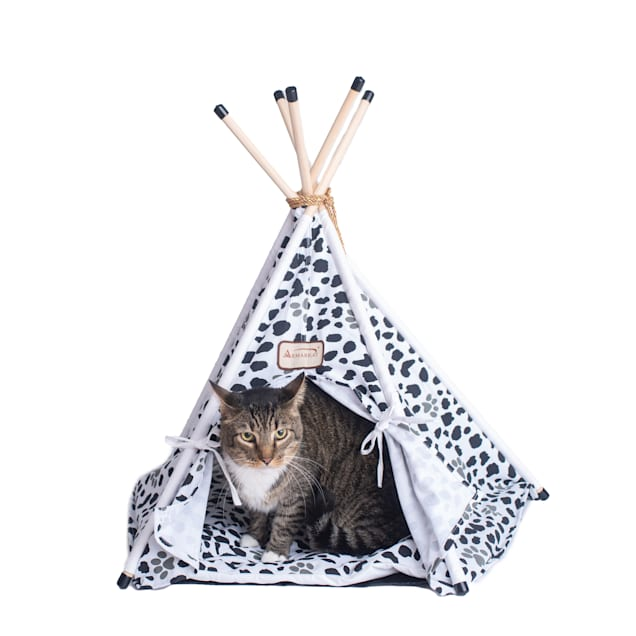"""Armarkat Teepee Style Model C46 Cat Bed, 35"""" L X 35"""" W X 29"""" H - Carousel image #1"""