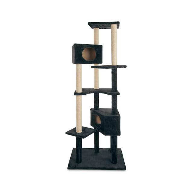 "Animaze 6-Level Black Cat Tree, 76"" H - Carousel image #1"