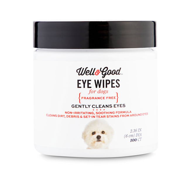 Well & Good Dog Eye Wipes, Pack of 100 - Carousel image #1