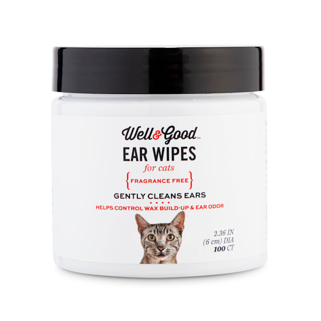 Well & Good Cat Ear Wipes, Pack of 100 - Carousel image #1