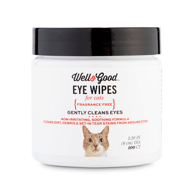 Well & Good Cat Eye Wipes, Pack of 100 - Carousel image #1
