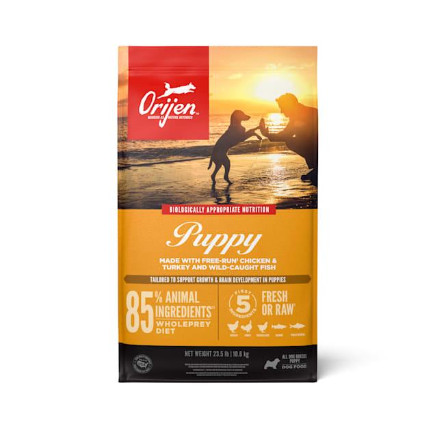 ORIJEN Grain Free High Protein Fresh & Raw Animal Ingredients Dry Puppy Food, 25 lbs. - Carousel image #1