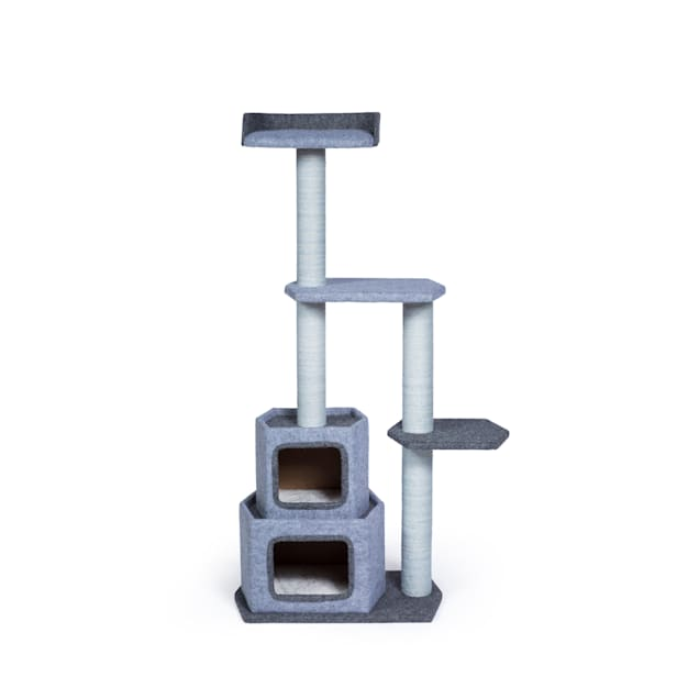 """Prevue Pet Products Kitty Power Paws Sky Tower 7308, 17"""" W X 14"""" H - Carousel image #1"""