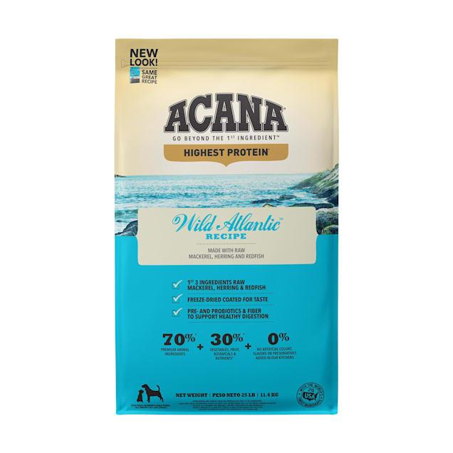 ACANA Wild Atlantic Dry Dog Food, 25 lbs. - Carousel image #1