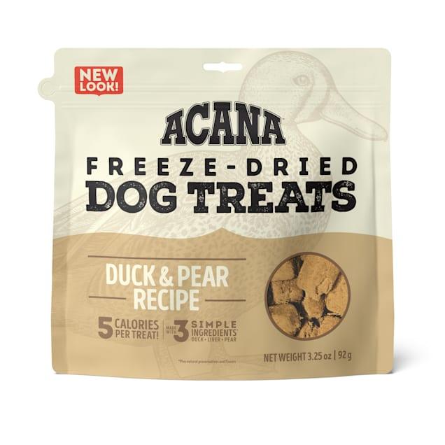 ACANA Singles Freeze-Dried Duck and Pear Dog Treats, 3.25 oz. - Carousel image #1
