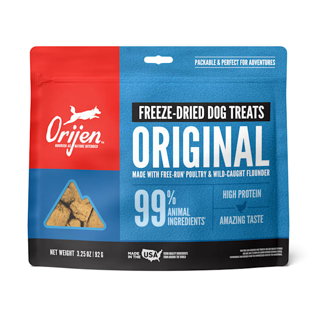 ORIJEN Freeze-Dried Original Dog Treats, 3.25 oz. - Carousel image #1