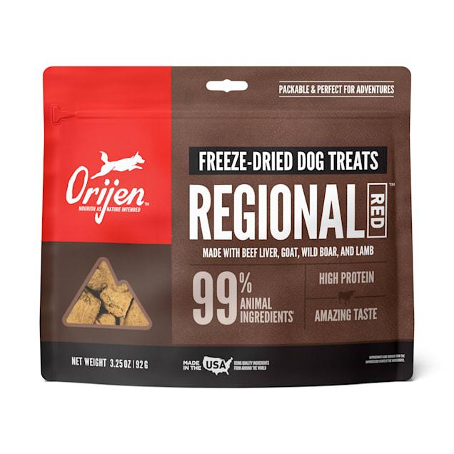 ORIJEN Freeze-Dried Regional Red Dog Treats, 3.25 oz. - Carousel image #1