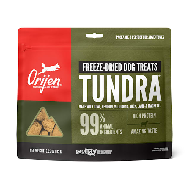 ORIJEN Freeze-Dried Tundra Dog Treats, 3.25 oz. - Carousel image #1