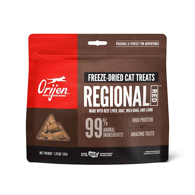 ORIJEN Regional Red Freeze-Dried Cat Treats, 1.25 oz. - Carousel image #1