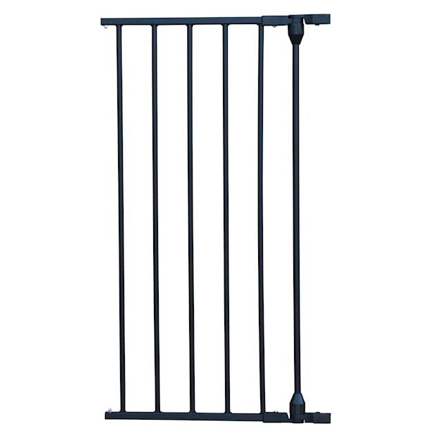 "Cardinal Gates Extension for XpandaGate Black Pet Gate, 15"" L X 2"" W X 29.5"" H - Carousel image #1"