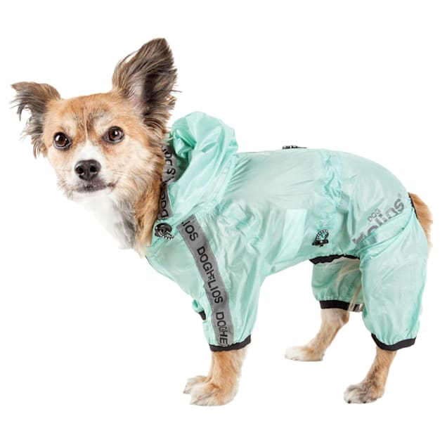 Dog Helios Torrential Shield Waterproof Multi-Adjustable Dog Windbreaker Raincoat, X-Small - Carousel image #1