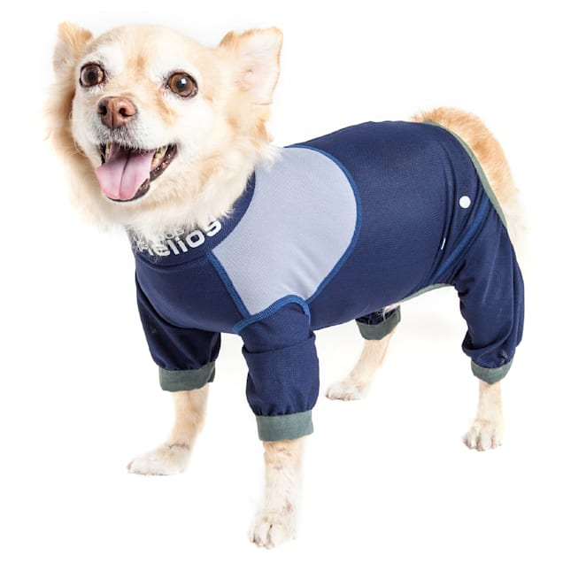 Dog Helios Tail Runner Lightweight Blue Dog Track Suit, X-Small - Carousel image #1