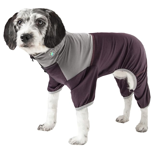 Pet Life Active Embarker Full Body Warm Up Brown Dog Sweaters, X-Small - Carousel image #1