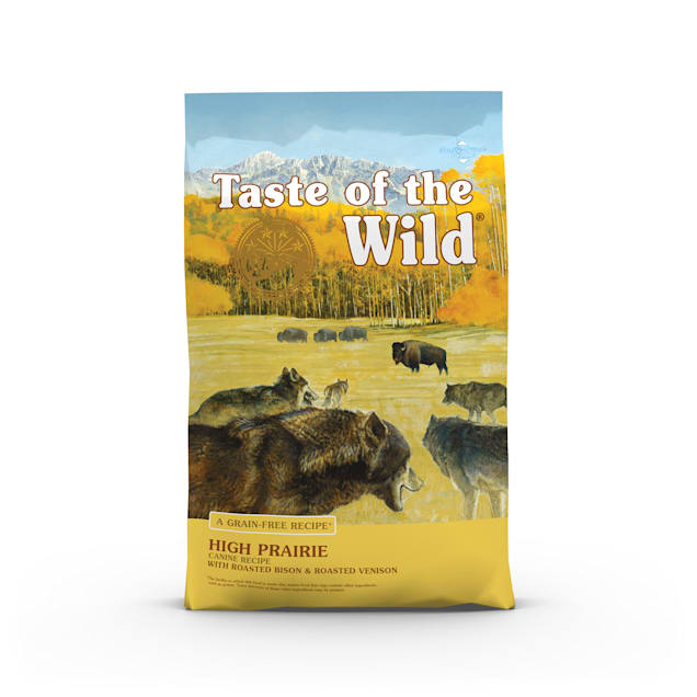 Taste of the Wild High Prairie Grain-Free Roasted Bison & Venison Dry Dog Food, 28 lbs. - Carousel image #1
