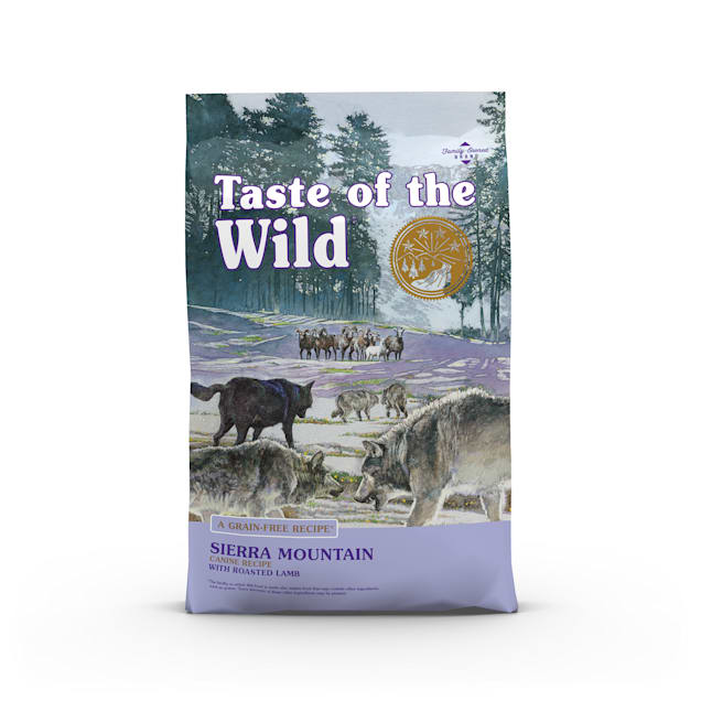 Taste of the Wild Sierra Mountain Grain-Free Roasted Lamb Dry Dog Food, 28 lbs. - Carousel image #1