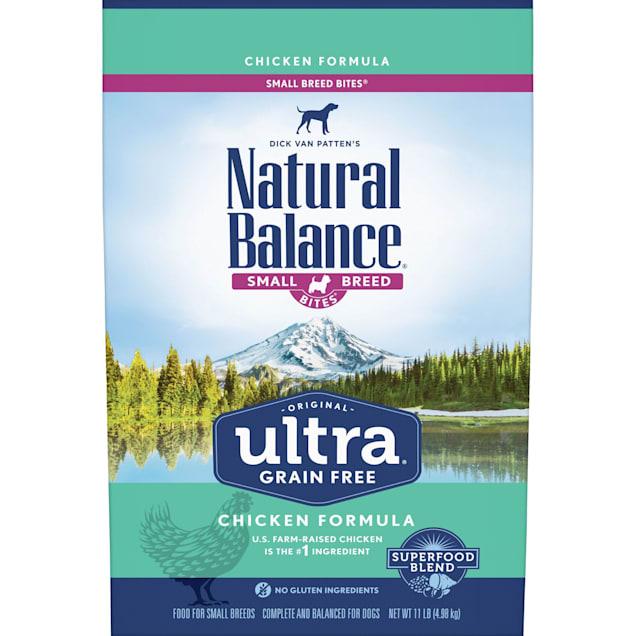 Natural Balance Original Ultra Grain Free Small Breed Bites Chicken Dry Dog Food, 11 lbs. - Carousel image #1