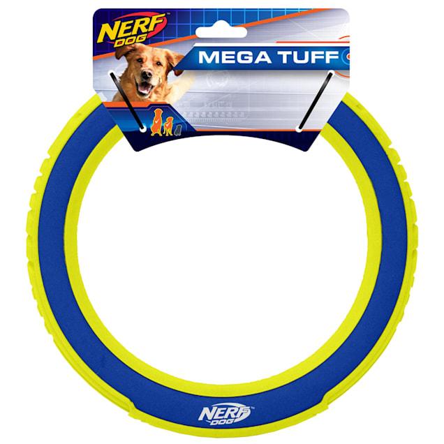 Nerf Nylon/Foam Megaton Ring Dog Toy, Medium - Carousel image #1
