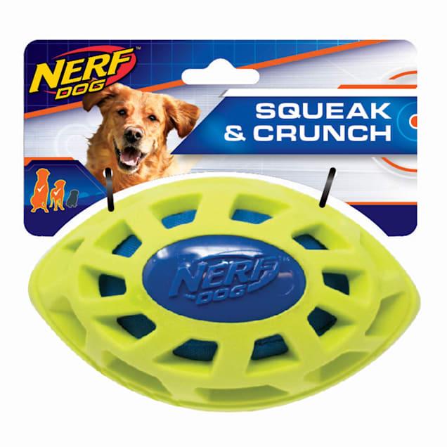Nerf Exo Elite Mega Crunch Football Dog Toy, Small - Carousel image #1